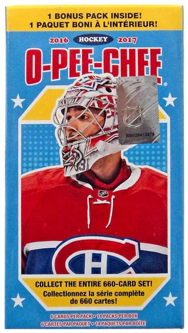 NHL 2016-17 O-Pee-Chee Hockey Trading Card BLASTER Box [14 Packs]