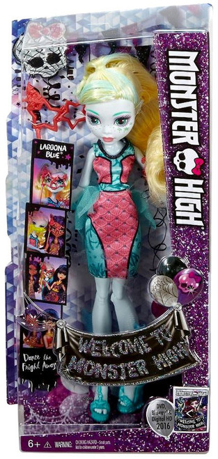 Welcome to Monster High Lagoona Blue Doll