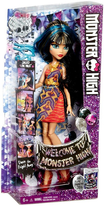 Welcome to Monster High Cleo De Nile Doll
