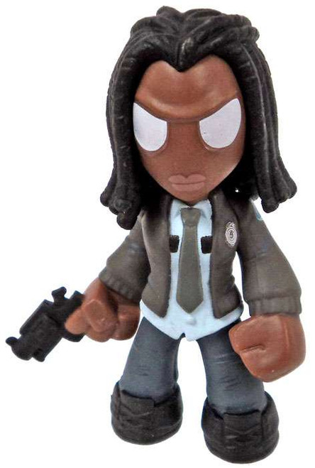 Funko The Walking Dead Series 4 Mystery Minis Michonne 1/12 Mystery Minifigure [Police Jacket Loose]