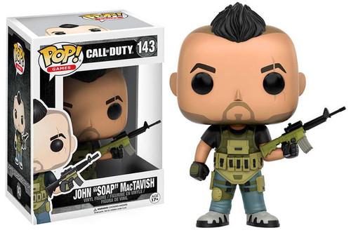 "Funko Call of Duty POP! Games John ""SOAP"" MacTavish Vinyl Figure #143"