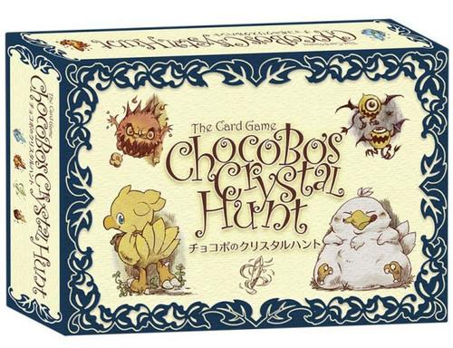 Final Fantasy Chocobo Crystal Hunt Card Game