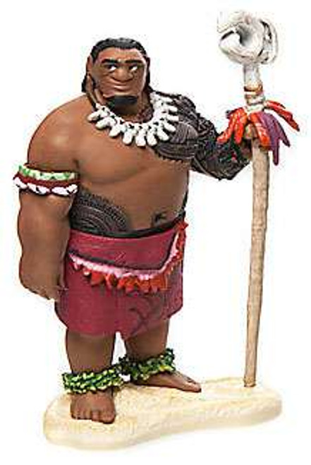 Disney Moana Chief Tui PVC Figure [Loose]