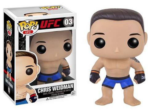 Funko UFC POP! Sports Chris Weidman Vinyl Figure #03 [Damaged Package]
