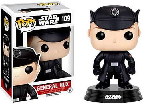 Funko The Force Awakens POP! Star Wars General Hux Vinyl Bobble Head #109 [EP7, Damaged Package]