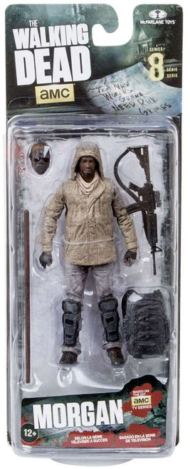 McFarlane Toys The Walking Dead AMC TV Series 8 Morgan Jones Action Figure [Damaged Package]