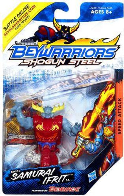 Beyblade Beywarriors Shogun Steel Samurai Ifrit BW-01 [Damaged Package]