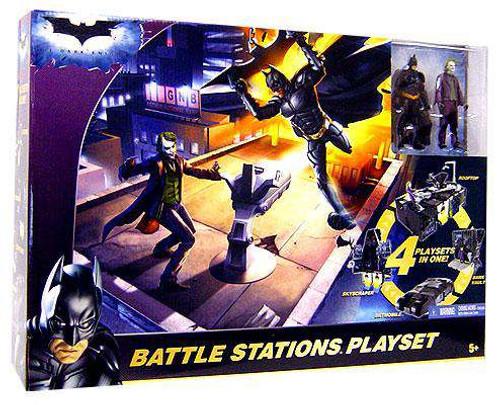 Batman The Dark Knight Battle Stations Playset