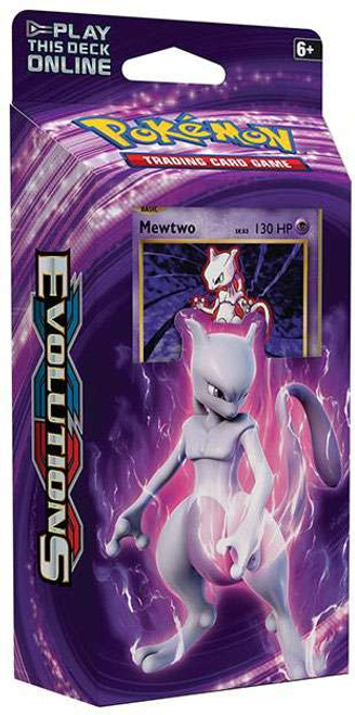 Pokemon Trading Card Game XY Evolutions Mewtwo Mayhem Theme Deck