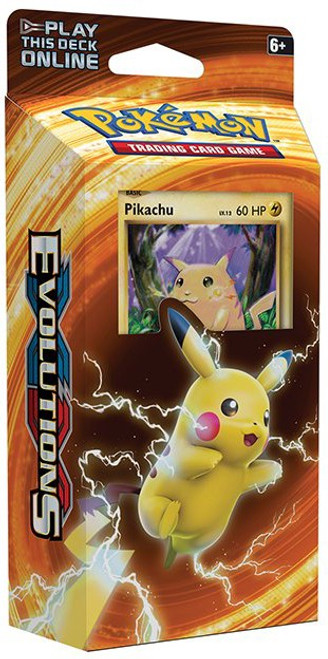 Pokemon Trading Card Game XY Evolutions Pikachu Power Theme Deck