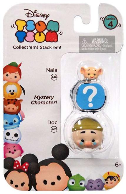 Disney Tsum Tsum Series 4 Nala & Doc 1-Inch Minifigure 3-Pack