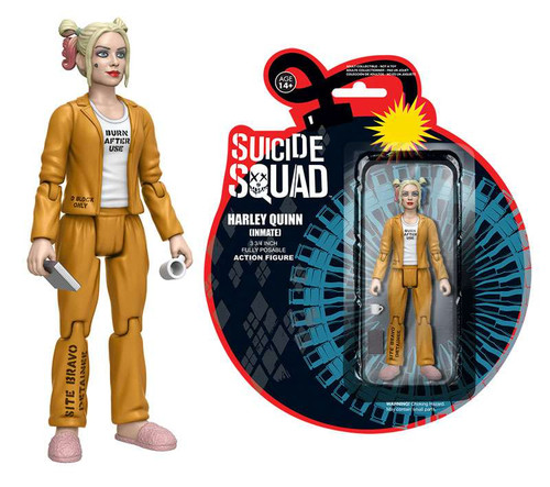 Funko DC Suicide Squad Harley Quinn Action Figure [Inmate]