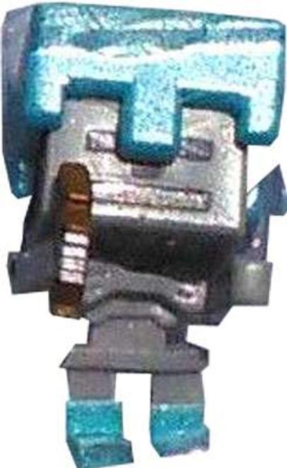 Minecraft Ice Series 5 Skeleton with Diamond Armor Mini Figure