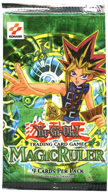 YuGiOh Trading Card Game Magic Ruler Booster Pack [9 Cards]