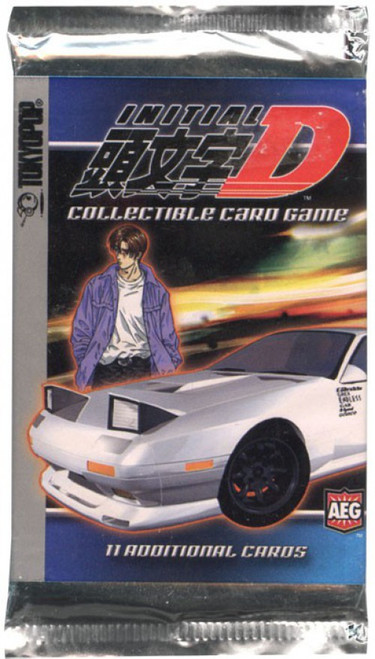 Initial D Trading Card Pack