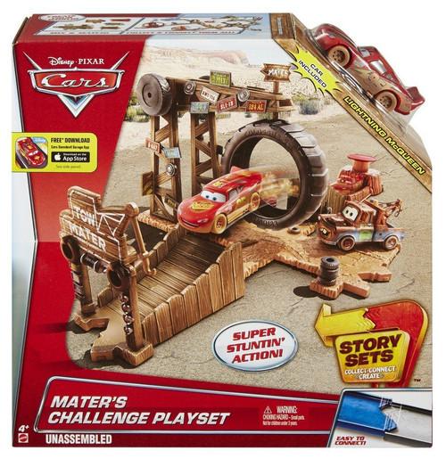 Disney / Pixar Cars Story Sets Mater's Challenge Playset