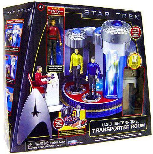Star Trek 2009 Movie U.S.S. Enterprise Transporter Room Action Figure Playset [Damaged Package]