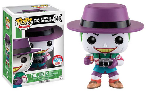 Funko Batman DC Super Heros POP! Heroes The Joker Exclusive Vinyl Figure #146 [The Killing Joke]