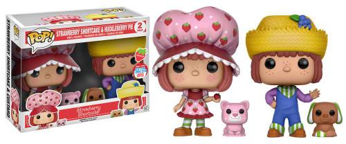 Funko POP! Animation Strawberry Shortcake & Huckleberry Pie Exclusive Vinyl Figures