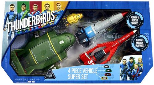 Thunderbirds Are Go Super Set Vehicle 4-Pack