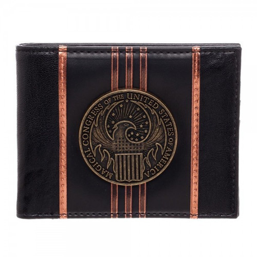 Harry Potter Fantastic Beasts and Where to Find Them MACUSA PU Bi-Fold Wallet