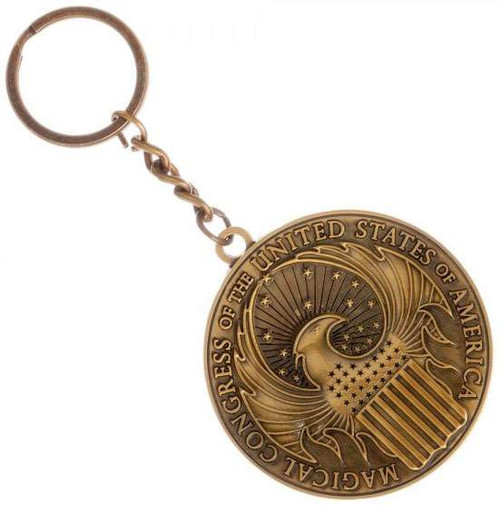 Harry Potter Fantastic Beasts and Where to Find Them MACUSA Keychain Apparel
