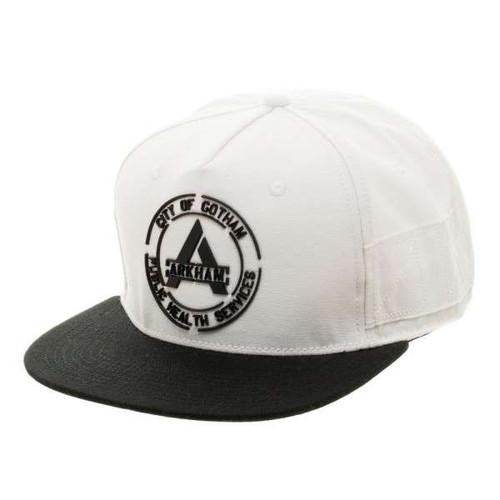 DC Suicide Squad Arkham White Snapback Baseball Cap