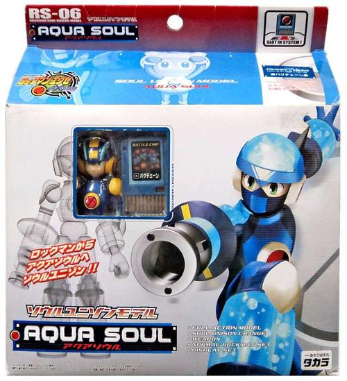 Mega Man NT Warrior Soul Unison Aqua Soul Model Kit RS-06