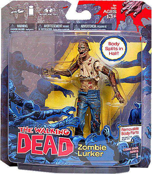 McFarlane Toys The Walking Dead Comic Zombie Lurker Action Figure [Damaged Package]