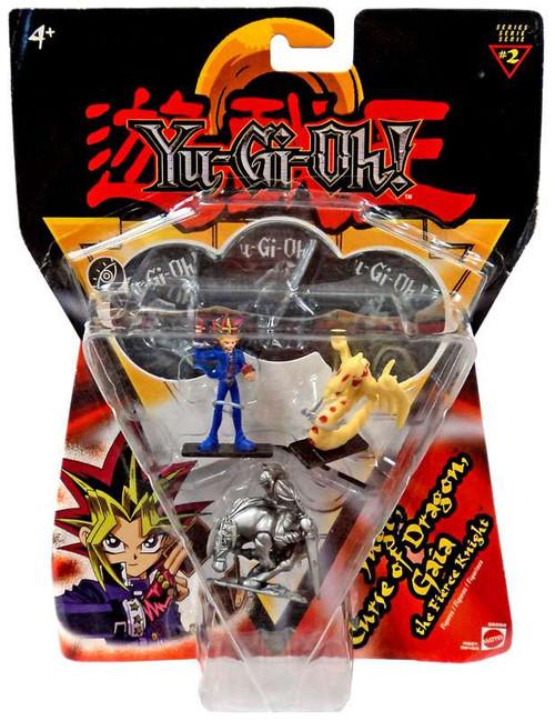 YuGiOh Series 2 Yugi, Curse of Dragon & Gaia 2-Inch PVC Figure 3-Pack