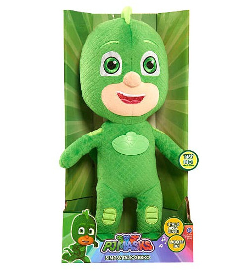 Disney Junior PJ Masks Gekko 15-Inch Plush with Sound [Sing & Talk]