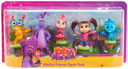 Disney Junior Kate & Mim-Mim Mimiloo Friends 15-Inch Figure 5-Pack