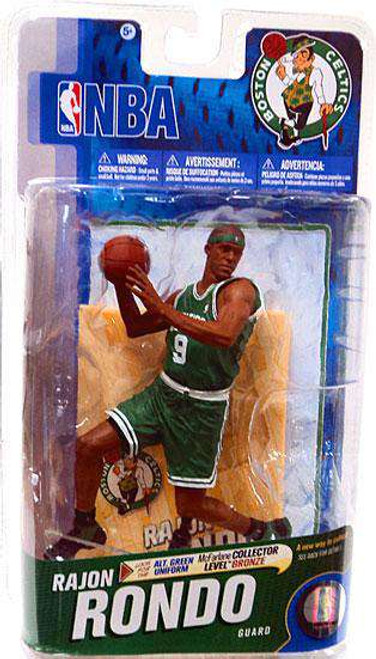 McFarlane Toys NBA Boston Celtics Sports Picks Series 19 Rajon Rondo Action Figure [Green Jersey, Damaged Package]