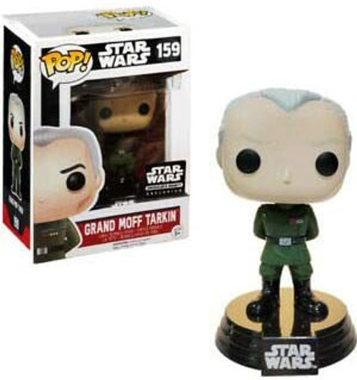 Funko POP! Star Wars Grand Moff Tarkin Exclusive Vinyl Bobble Head #159