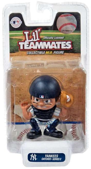 MLB Lil' Teammates Series 2 New York Yankees Catcher Figure
