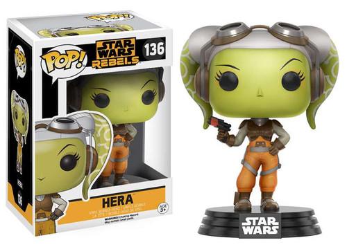 Funko Rebels POP! Star Wars Hera Vinyl Bobble Head #136