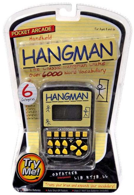 Pocket Arcade Hangman Electronic Game