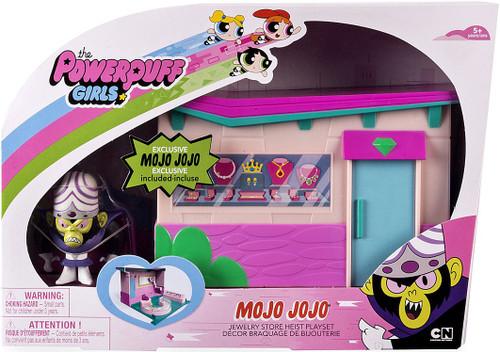 The Powerpuff Girls MoJo JoJo 2-Inch Playset [Jewelry Store Heist]