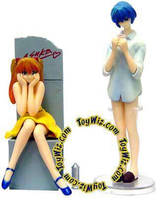 Neon Genesis Evangelion Rei & Asuka PVC Figure Set