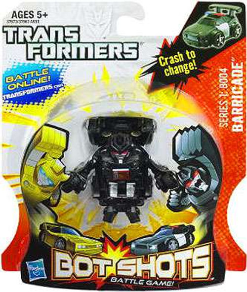 Transformers Bot Shots Battle Game Series 1 Barricade Action Figure B004