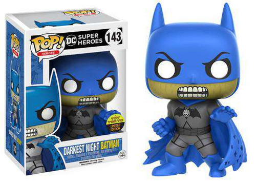 Funko DC Super Heros POP! Heroes Darkest Night Batman Exclusive Vinyl Figure #143