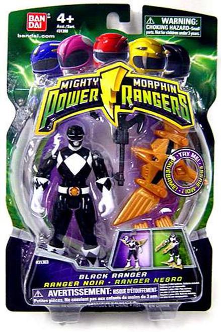 Power Rangers Mighty Morphin 2009 Black Ranger Action Figure