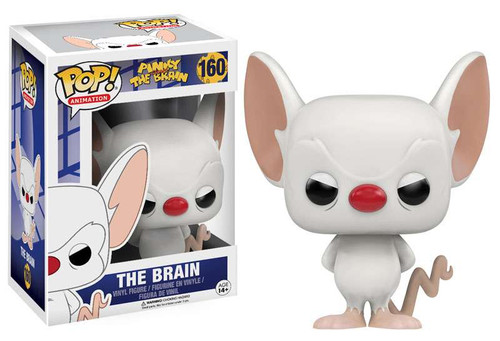 Funko Pinky and The Brain POP! Animation The Brain Vinyl Figure #160