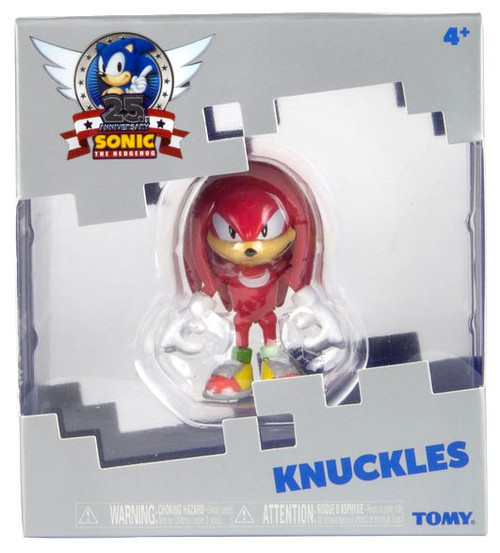 Sonic The Hedgehog 25th Anniversary Knuckles Action Figure