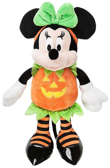 Disney 2016 Halloween Minnie Mouse Exclusive 15-Inch Plush [Pumpkin]