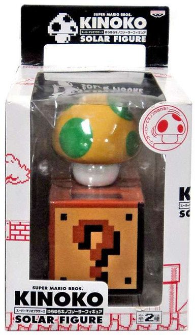Super Mario Kinoko Solar 1-Up Figure