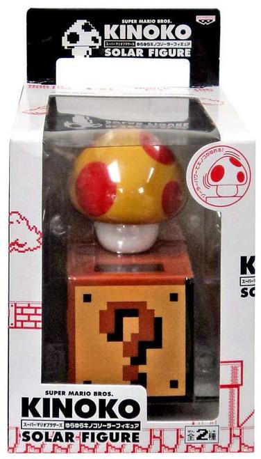Super Mario Kinoko Solar Mega Mushroom Figure