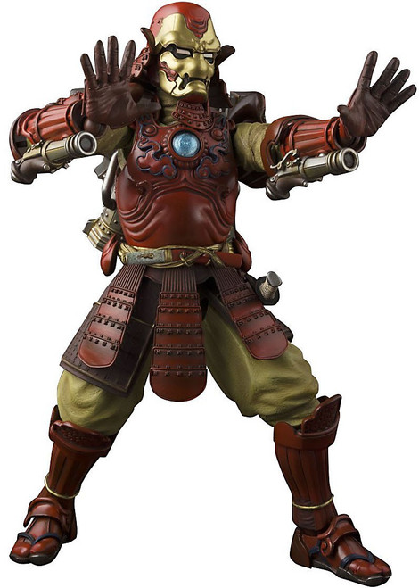 Marvel Meisho Manga Realization Samurai Iron Man Action Figure [Mark 3]