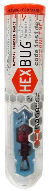 Hexbug Micro Robotic Creatures Newton Nano [Blue & Red]