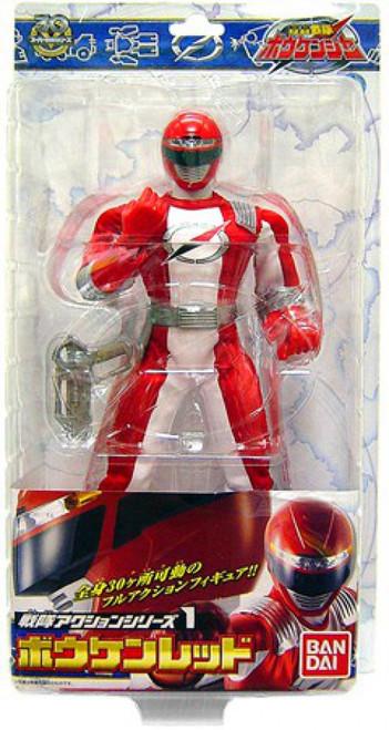 Power Rangers Operation Overdrive Red Ranger Action Figure [Japanese]